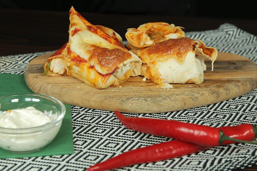 tavuklu burrito
