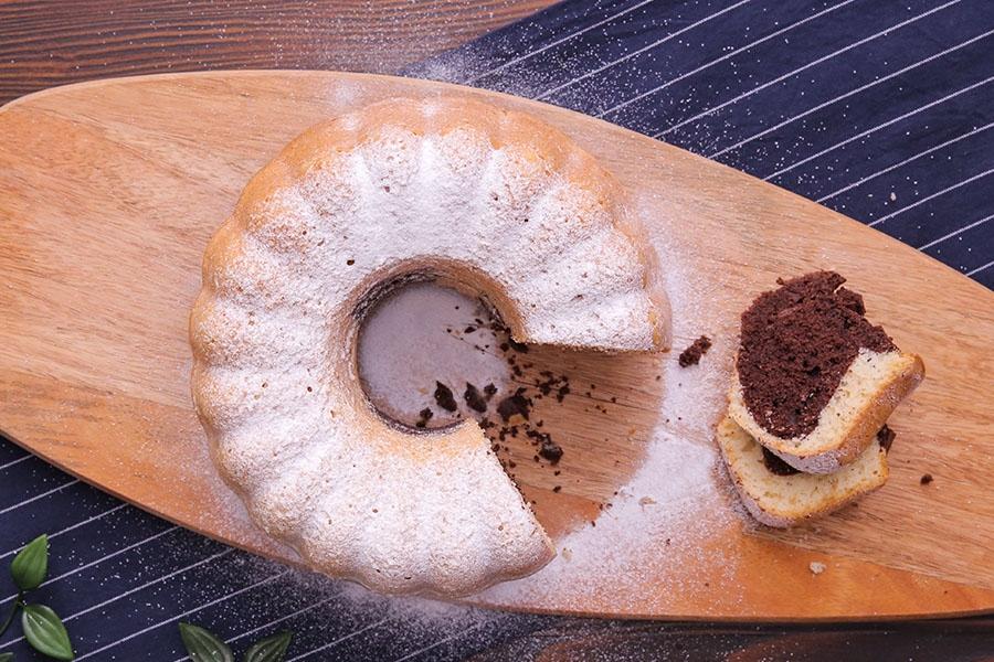 sodalı zebra kek