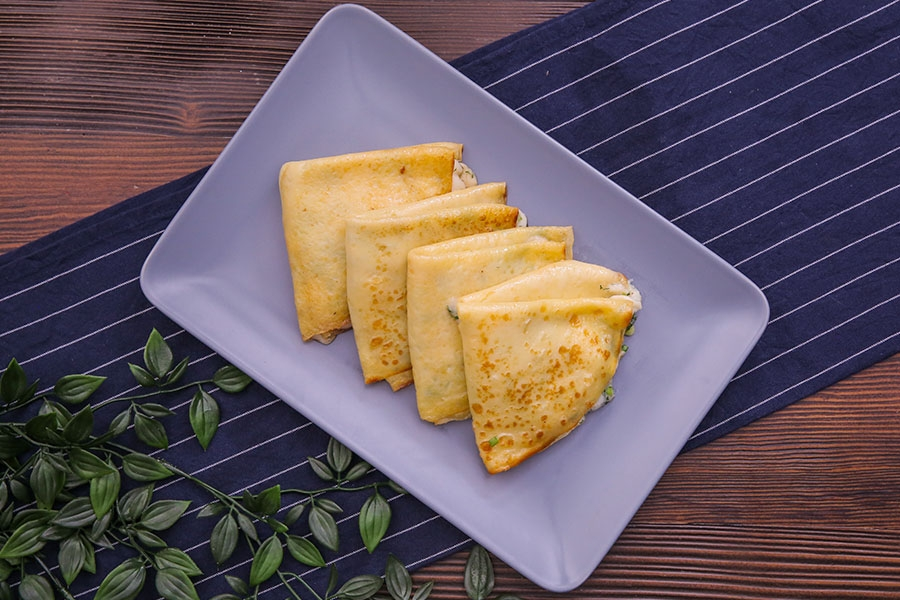 keçi peynirli krep