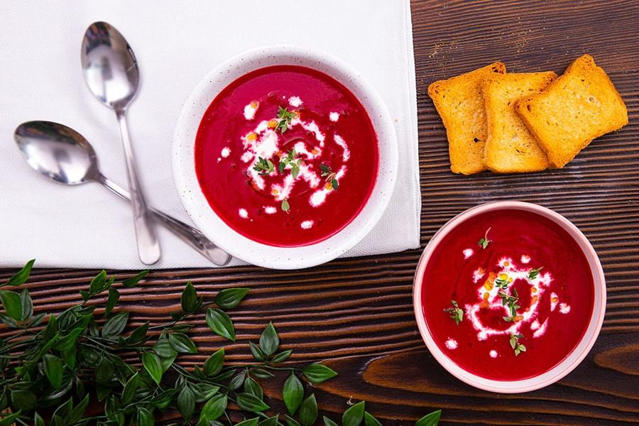 zencefilli pancar çorbası