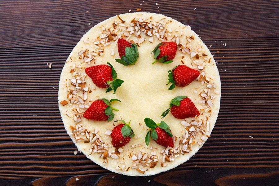 yulaf bisküvili irmik pastası